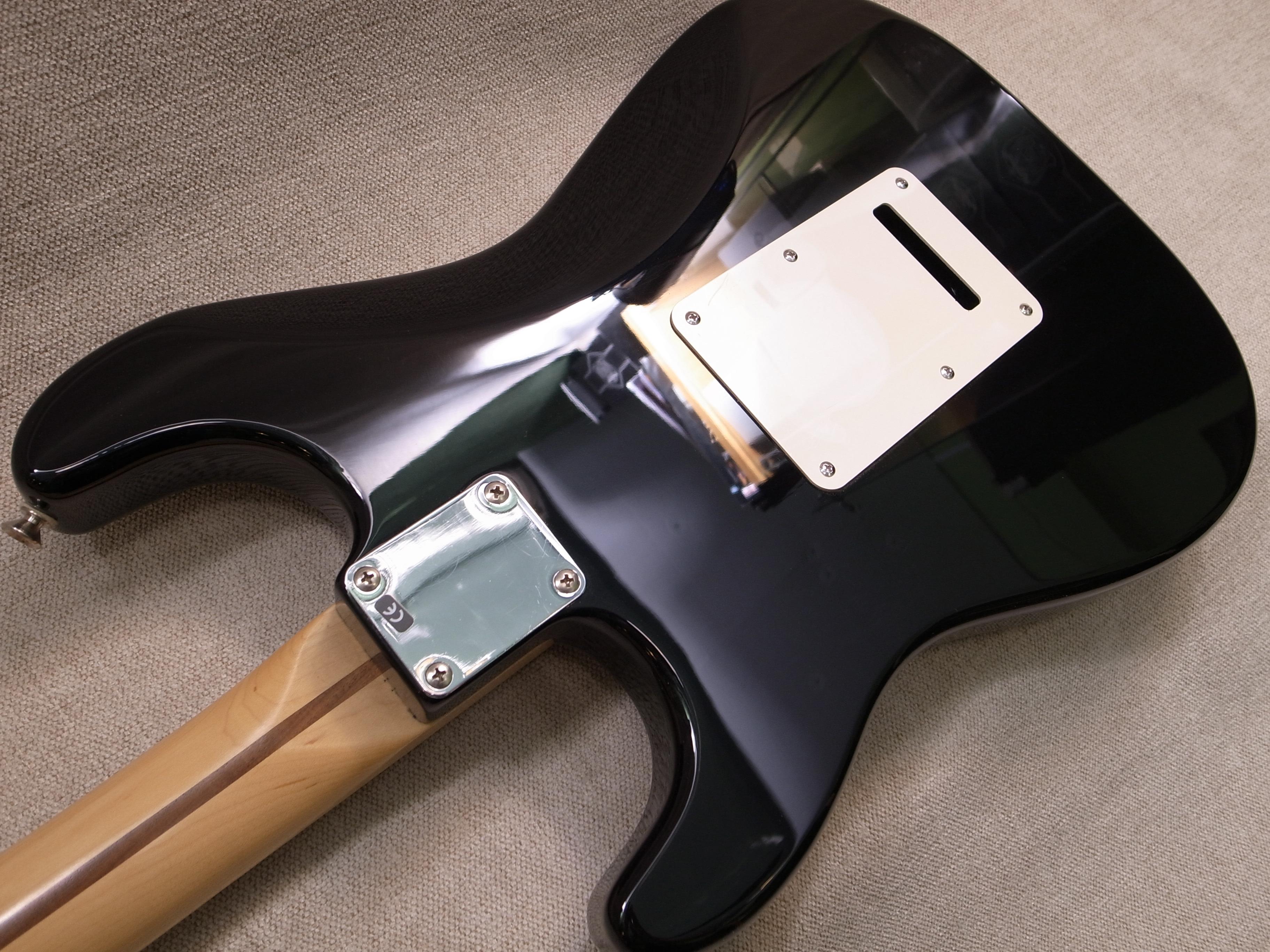 Перекраска деки гитары