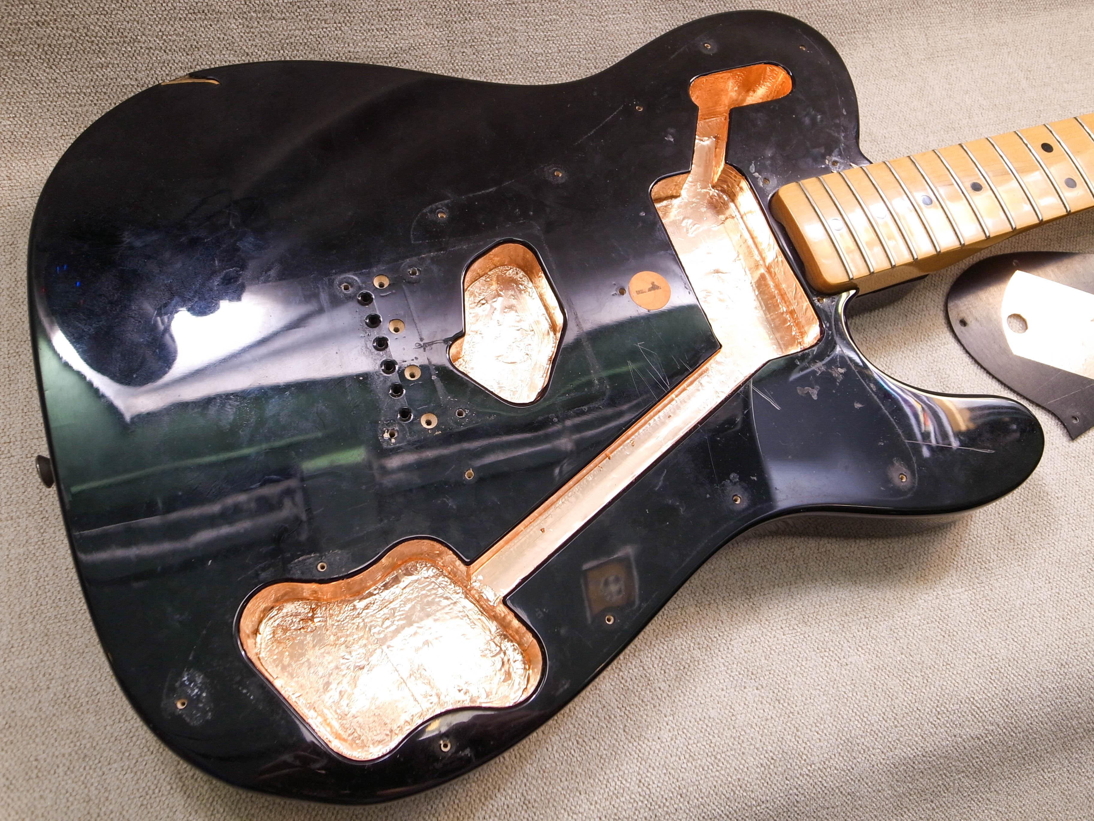 Экранировка гитары